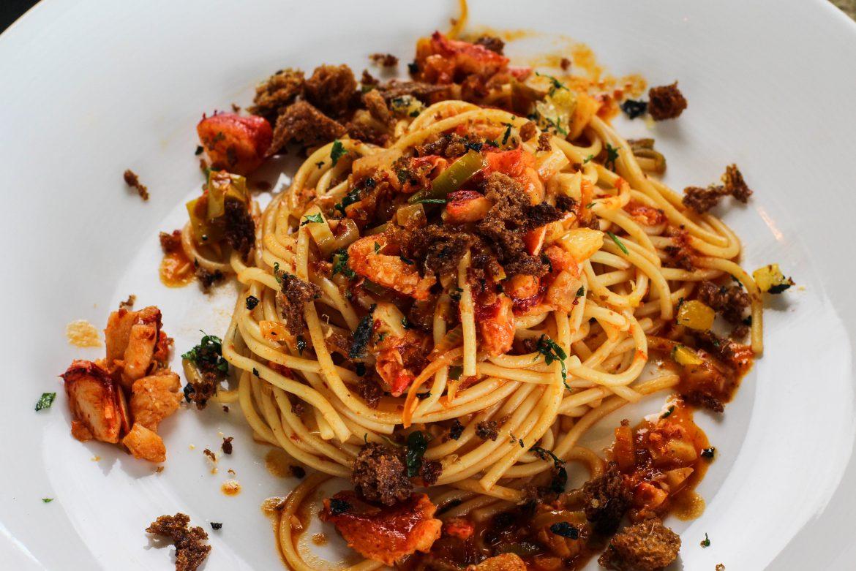 Maine Lobster Spaghetti