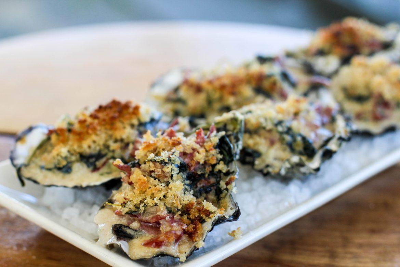 """Baked Oysters """"Josh-E-Feller"""""""
