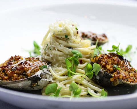 "Clam Spaghettini ""Salty's Style"""