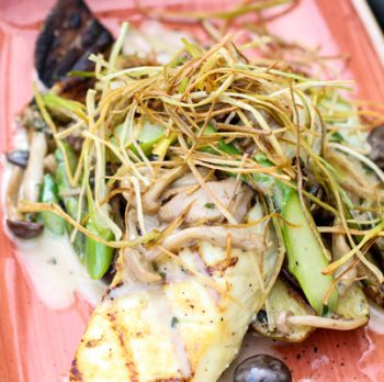 Wild Alaskan Halibut with Forest Mushroom