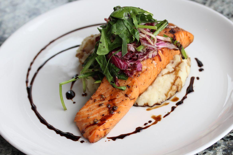 Cedar Plank Roasted King Salmon