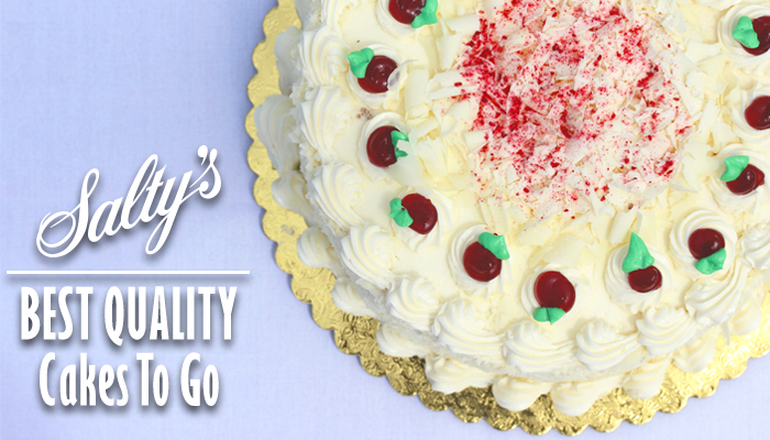 Cakes To Go At Saltys Waterfront Seafood Grills