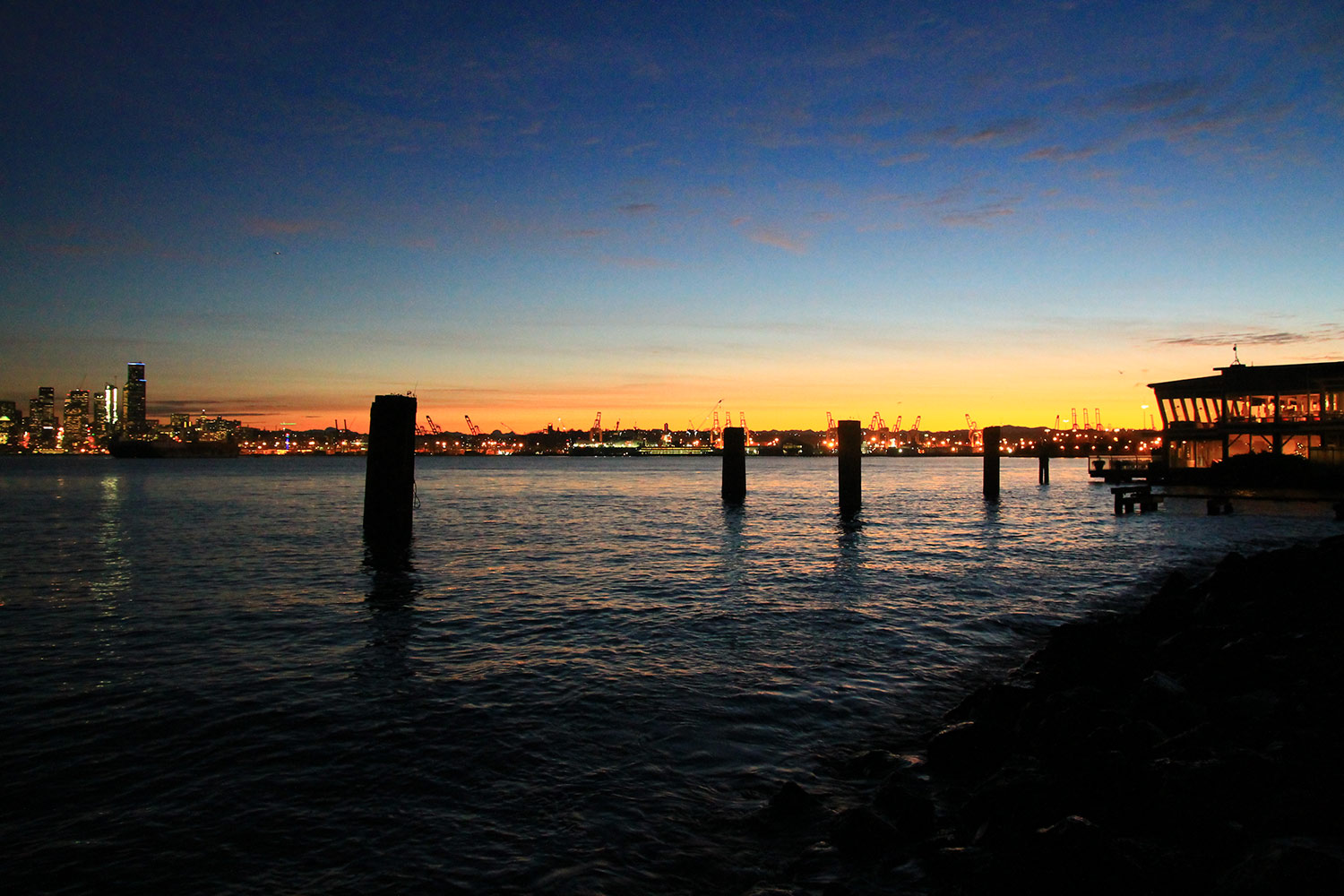 Alki Beach at Sunset - Cory Bagley | Official Home Page