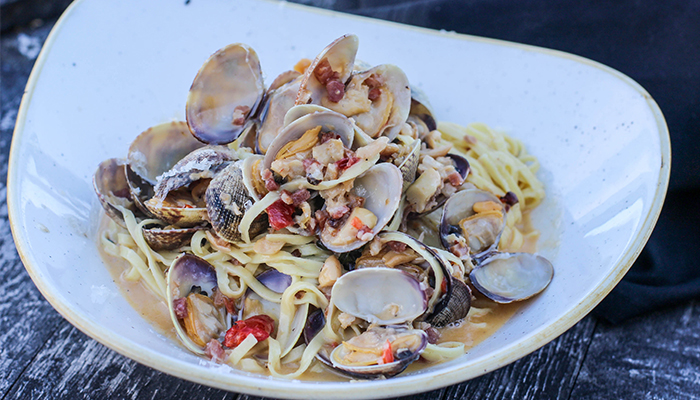 Clam and Linguine