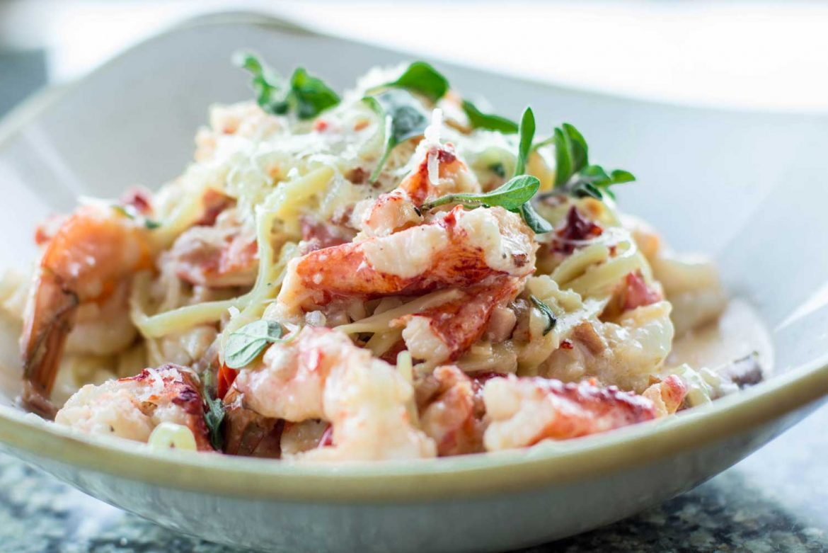 Lobster and Prawn Pasta