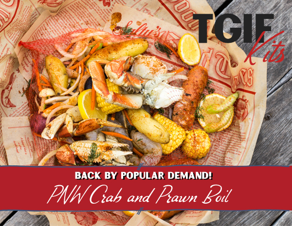 PNW Crab Boil Dinner Kit for Two People
